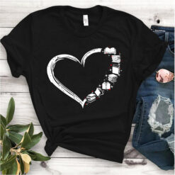 Book Shirt Book Heart