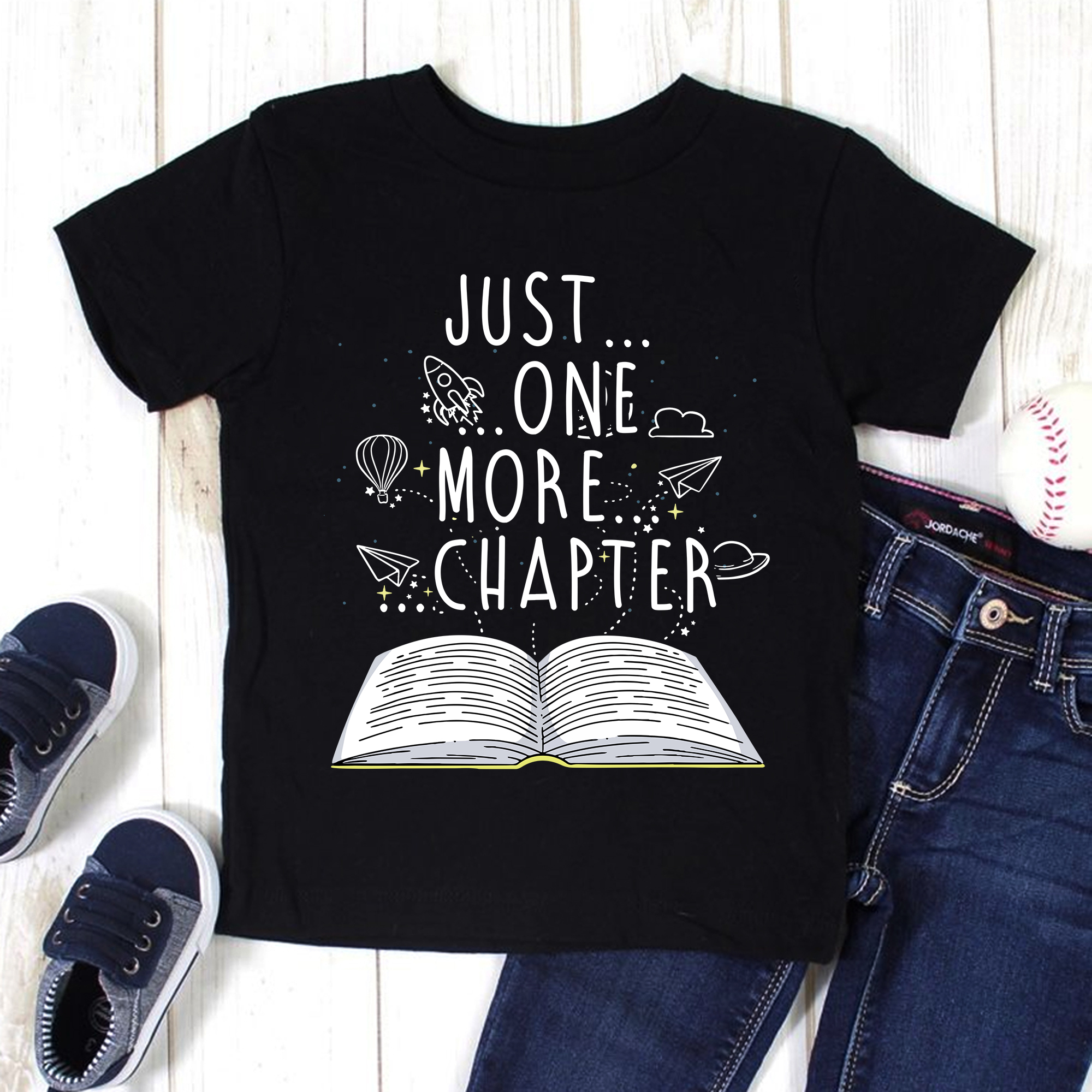 Book Shirt Just One More Chapter