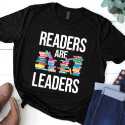 Book Shirt Reader Are Leaders