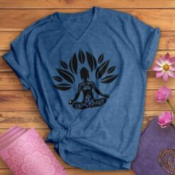 Buddha Shirt Yoga Mediation Lotus