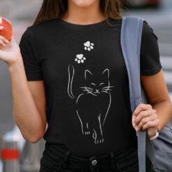 Cat Shirt Cat Walk