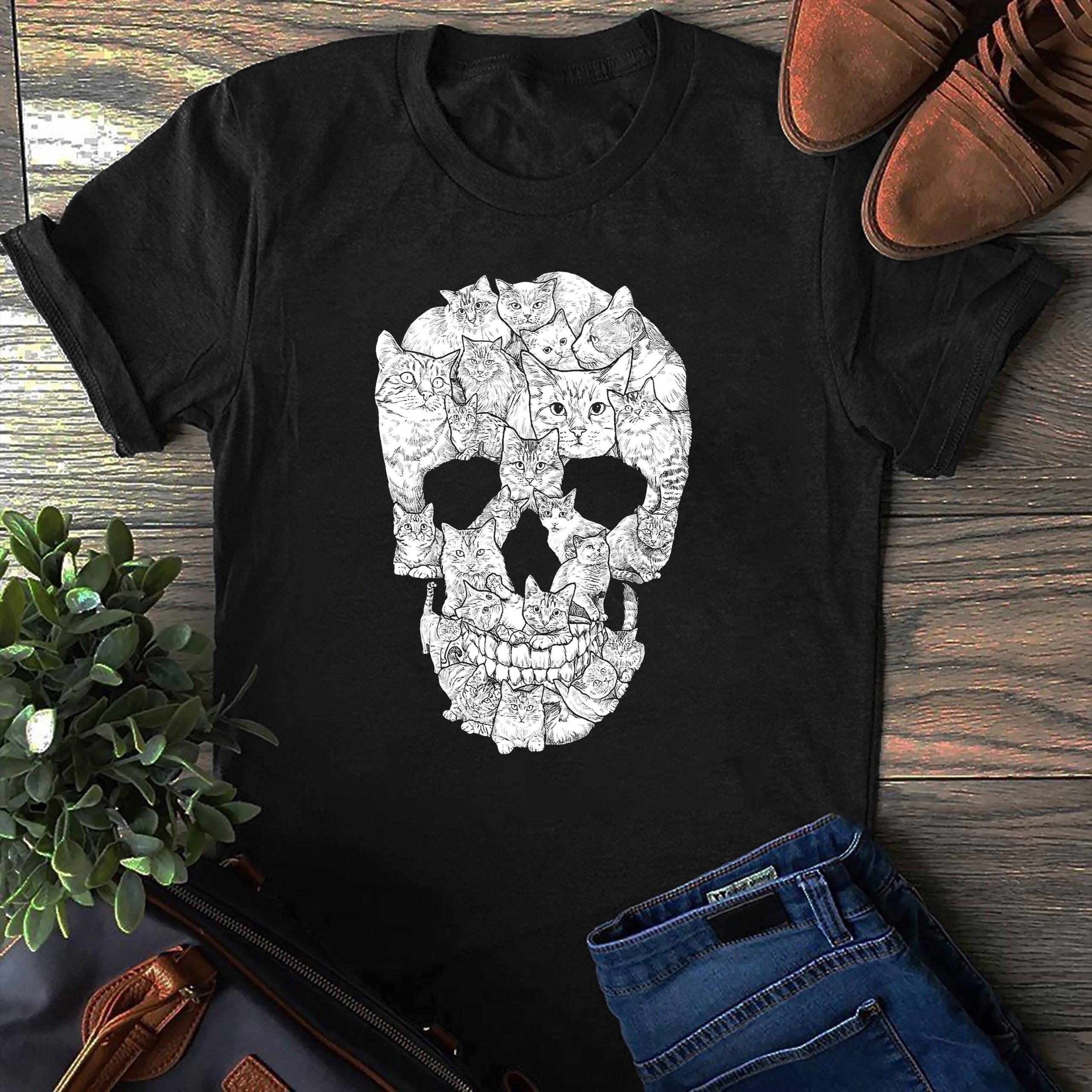 Cat Skull Shirt