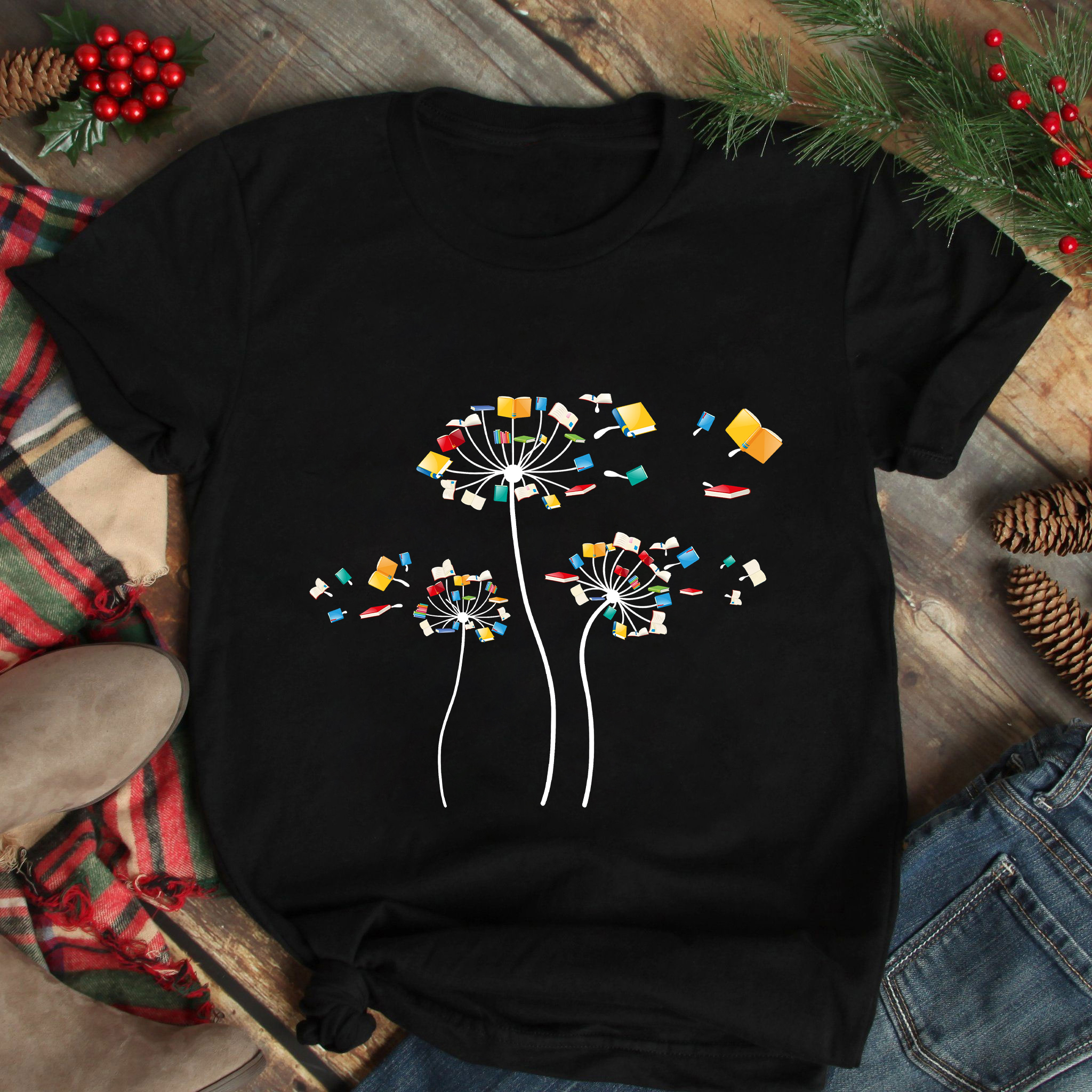 Dandelion Book Shirt