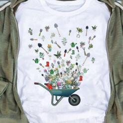 Gardening Shirt Gardening Tools Flying Wheelbarrow