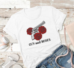 Gun And Rose Shirt