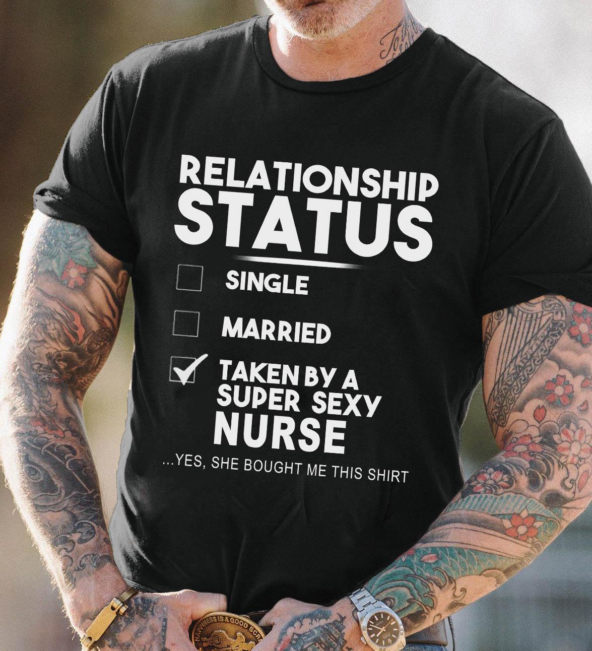 Husband Nurse Shirt Taken By A Super Sexy Nurse