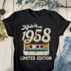 Made In 1958 Shirt Limited Edition