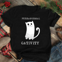 Purranormal Cativity Shirt Cat HalloweenPurranormal Cativity Shirt Cat Halloween