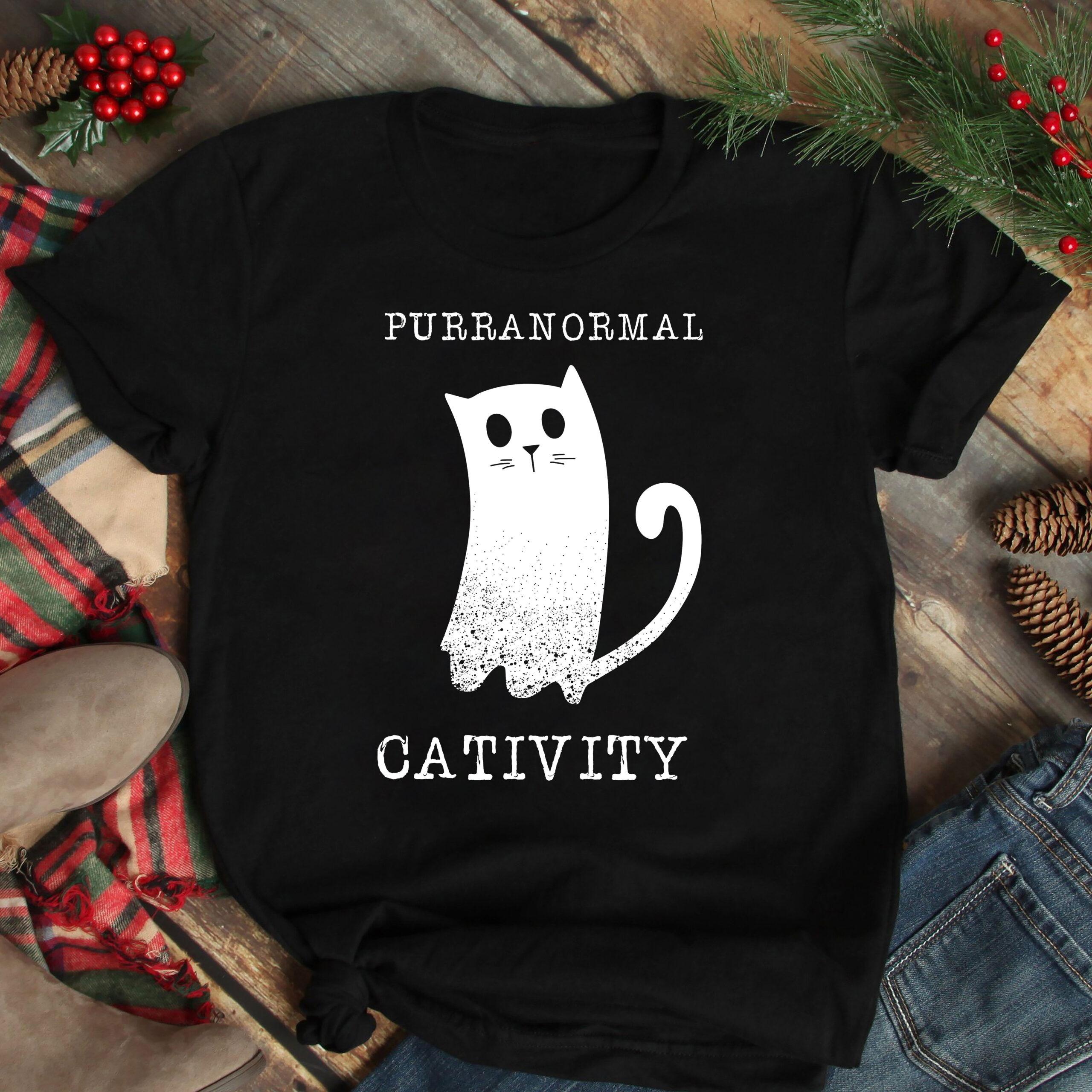 Purranormal Cativity Shirt Cat HalloweenPurranormal Cativity Shirt Cat Halloween