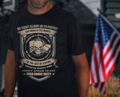 Skull Veteran Shirt I Possess The Skill Set 98%