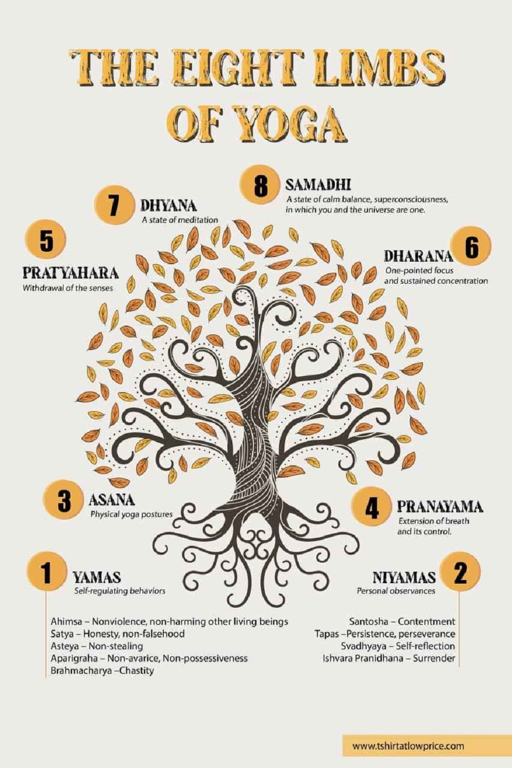 The eight limbs of yoga History of yoga final