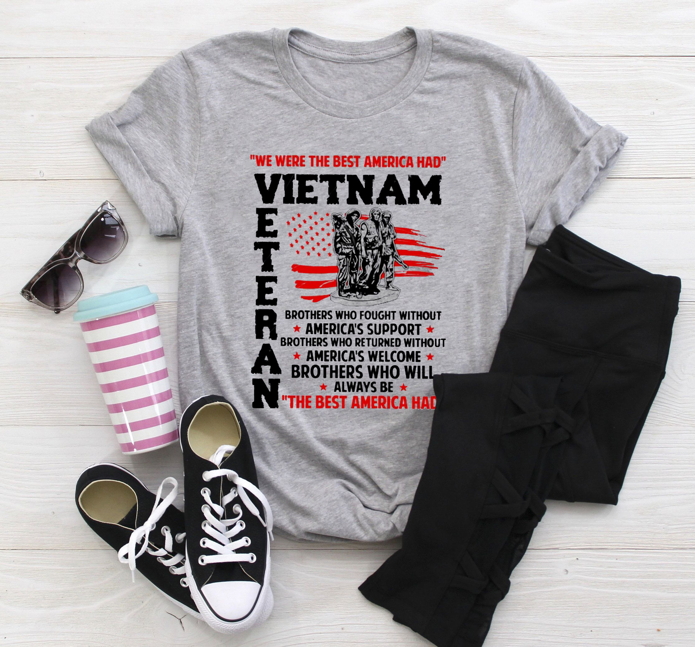 Vietnam Veteran Shirt Brothers Fought Without America Support