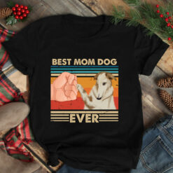 Vintage Best Mom Ever Shirt Best Borzoi Dog Mom Ever