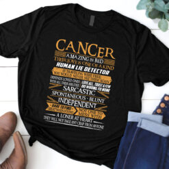 Cancer Amazing In Bed Shirt