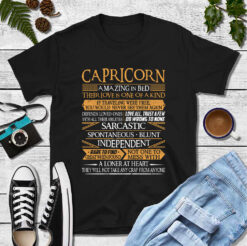 Capricorn Amazing In Bed Shirt