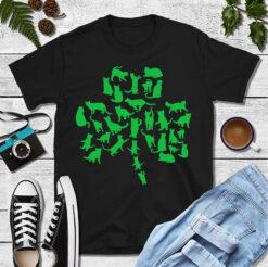 Cat Clover Shirt St Patrick Day