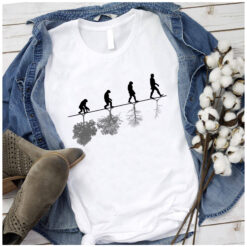 Human Evolution Timeline Shirt