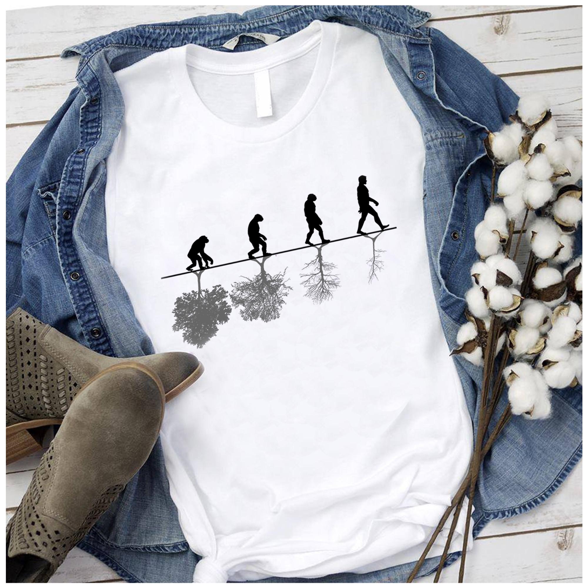 Human Evolution Timeline Shirt