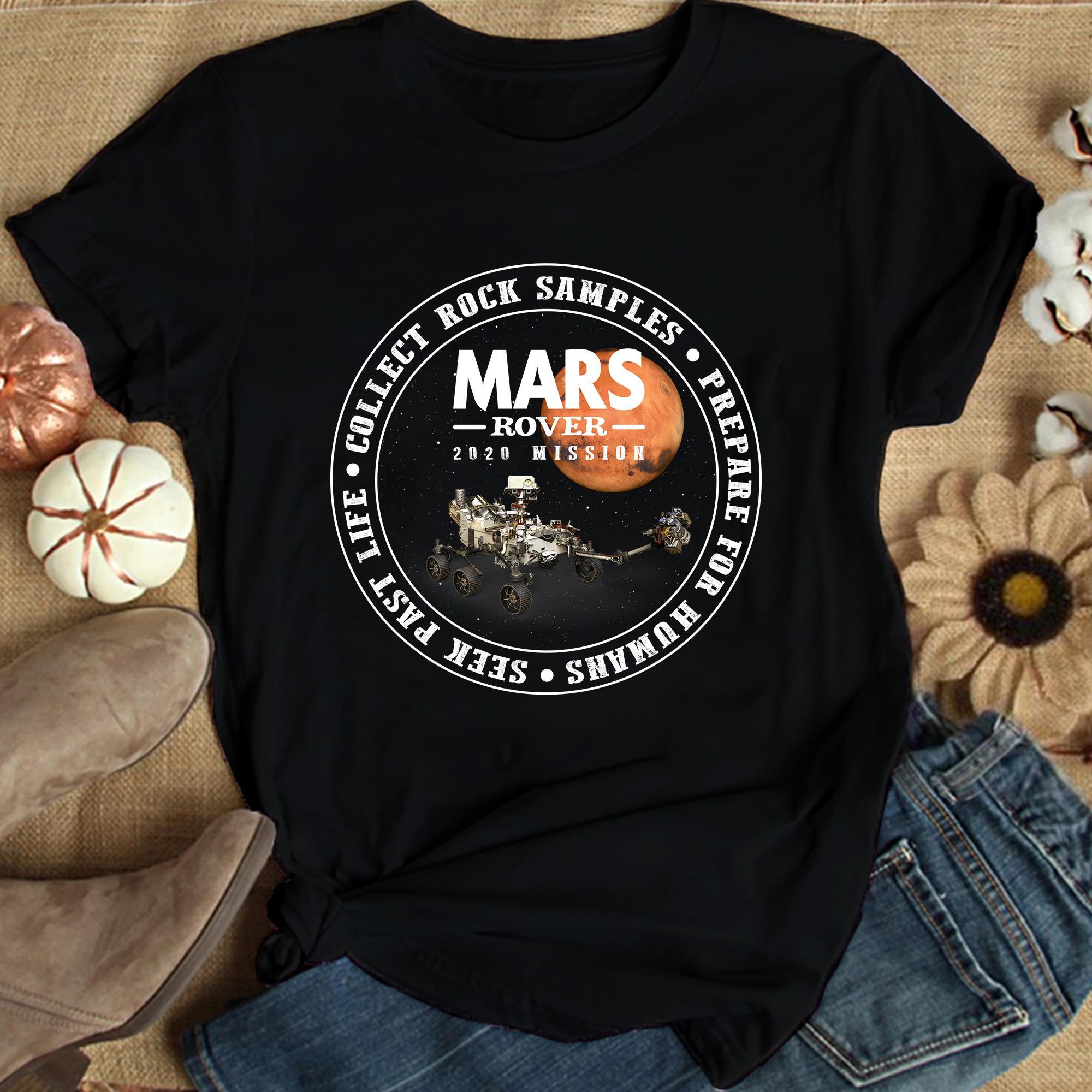 NASA Mars 2020 T Shirt Perseverance Rover 2020 Mission