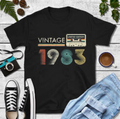 Vintage 1983 Limited Edition Shirt