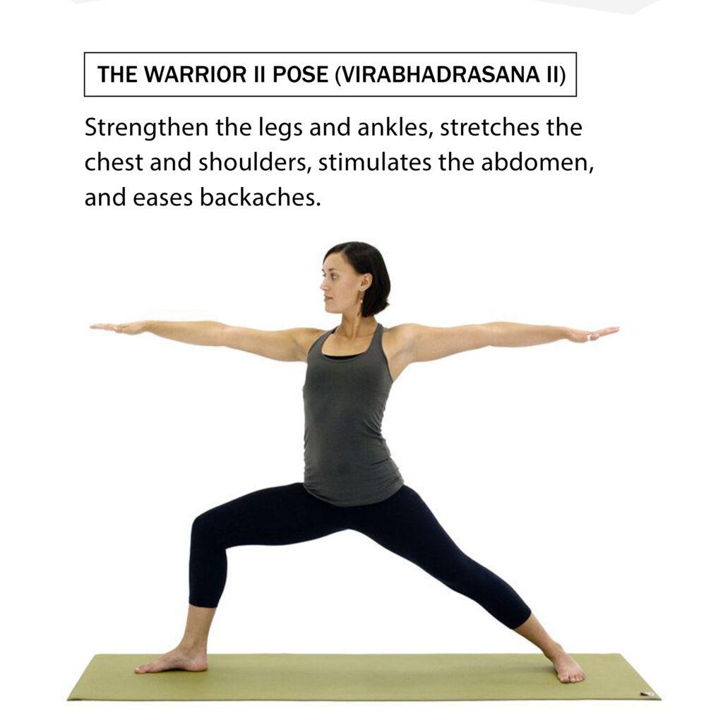 Warrior-pose-II-types-of-yoga-yoga-facts