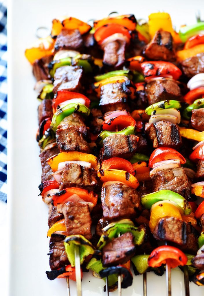 Grilled-Steak-Kebabs-Tasty-Fathers-Day-food-ideas