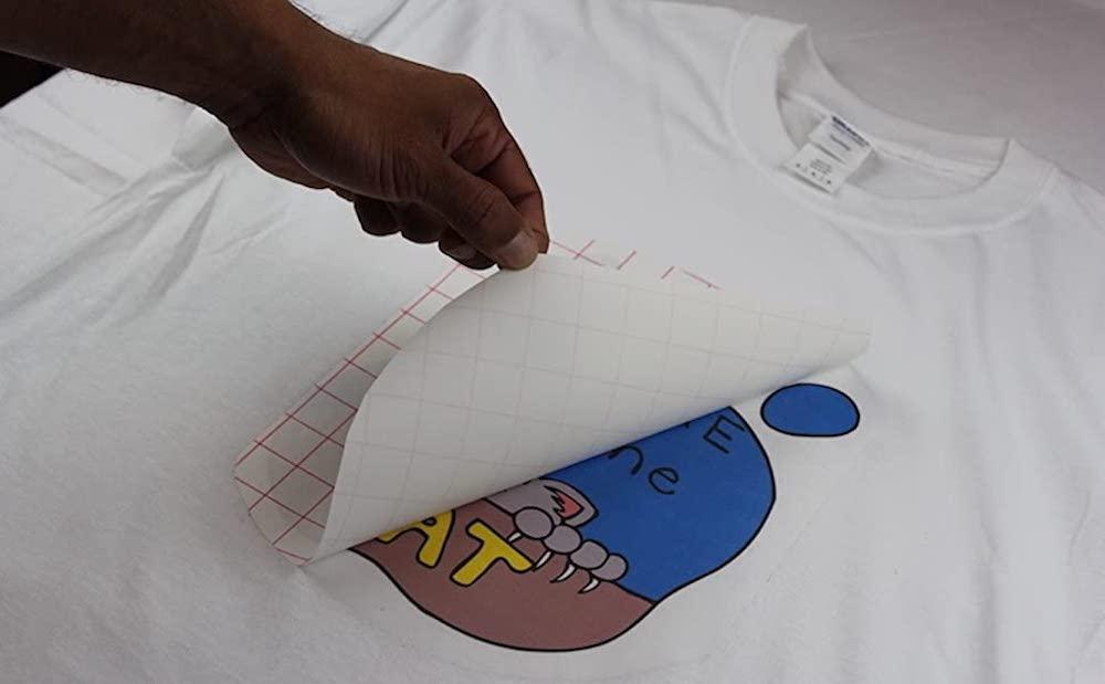 How to make Iron On Tshirt Transfers
