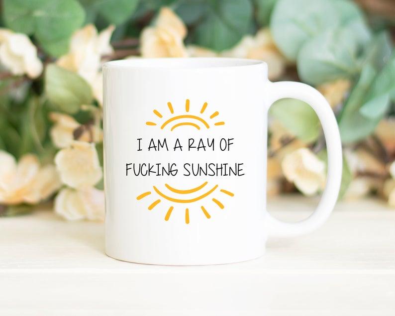 I Am A Ray Of Fucking Sunshine Mug 11Oz 15Oz