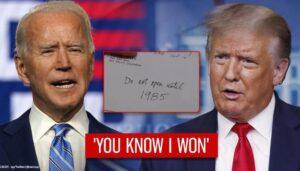 Joe, you know I won'