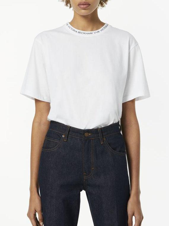 Logo-Rib-T-shirt-in-White-best-white-tshirt-for-women