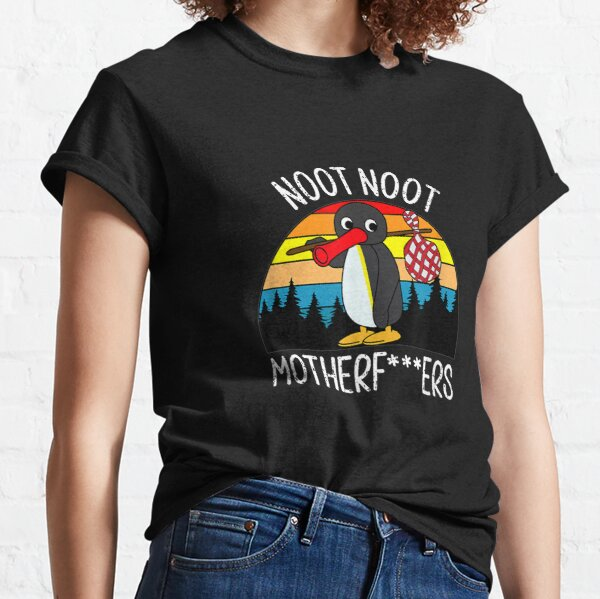 Obscene Lover Shirt Pingu Noot Noot Motherfucker