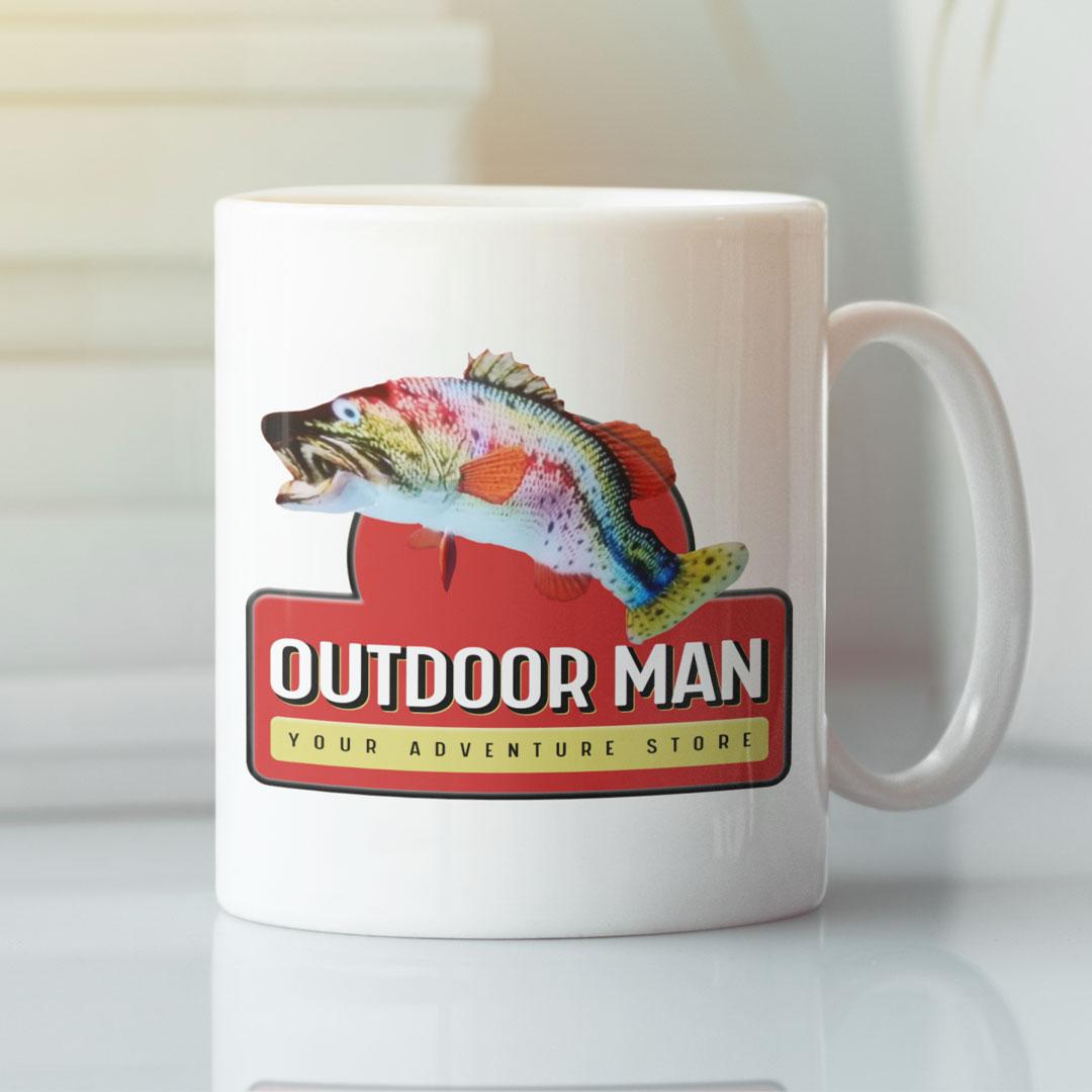 Outdoor Man Coffee Mug Your Adventure Store