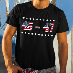45 47 Trump 2024 T Shirt Support Donald Trump