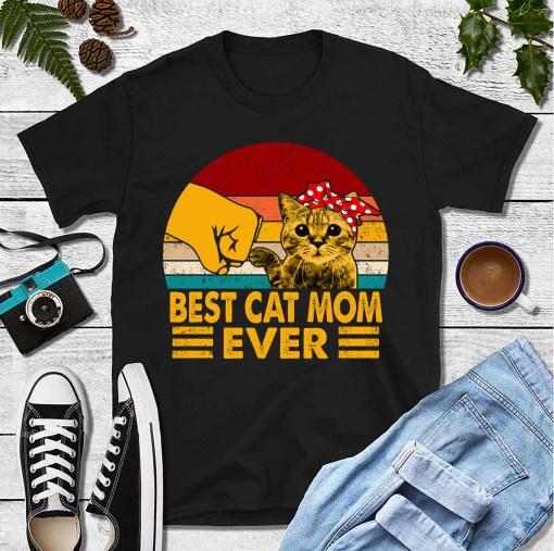 Best Cat Mom Ever Shirt 1