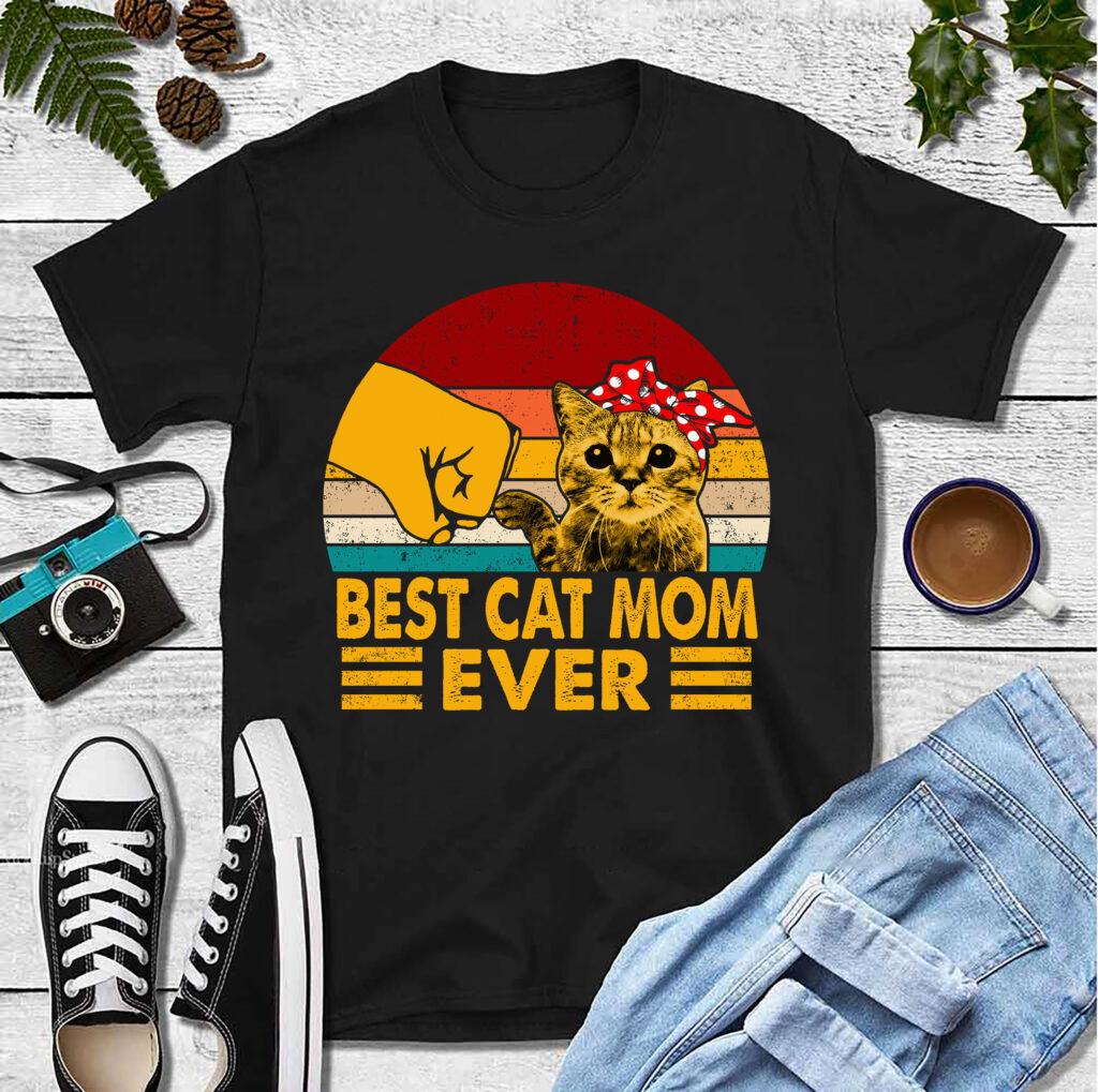 Best Cat Mom Ever Shirt 2