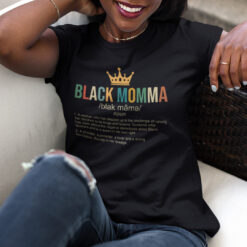 Black Momma Definition Shirt