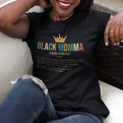Black Momma Definition Shirt