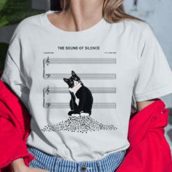 Cat Sound Of Silence Shirt
