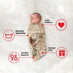 To My Daughter Dad And Daughter Fleece Blanket