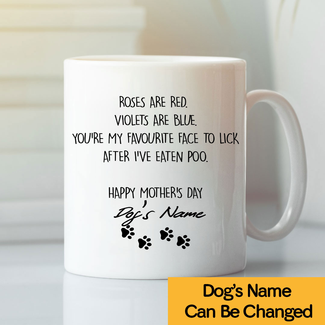 Happy Mother's Day Dog Mom Personalized Mug