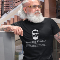 Funcle Shirt Funny Bearded Funcle