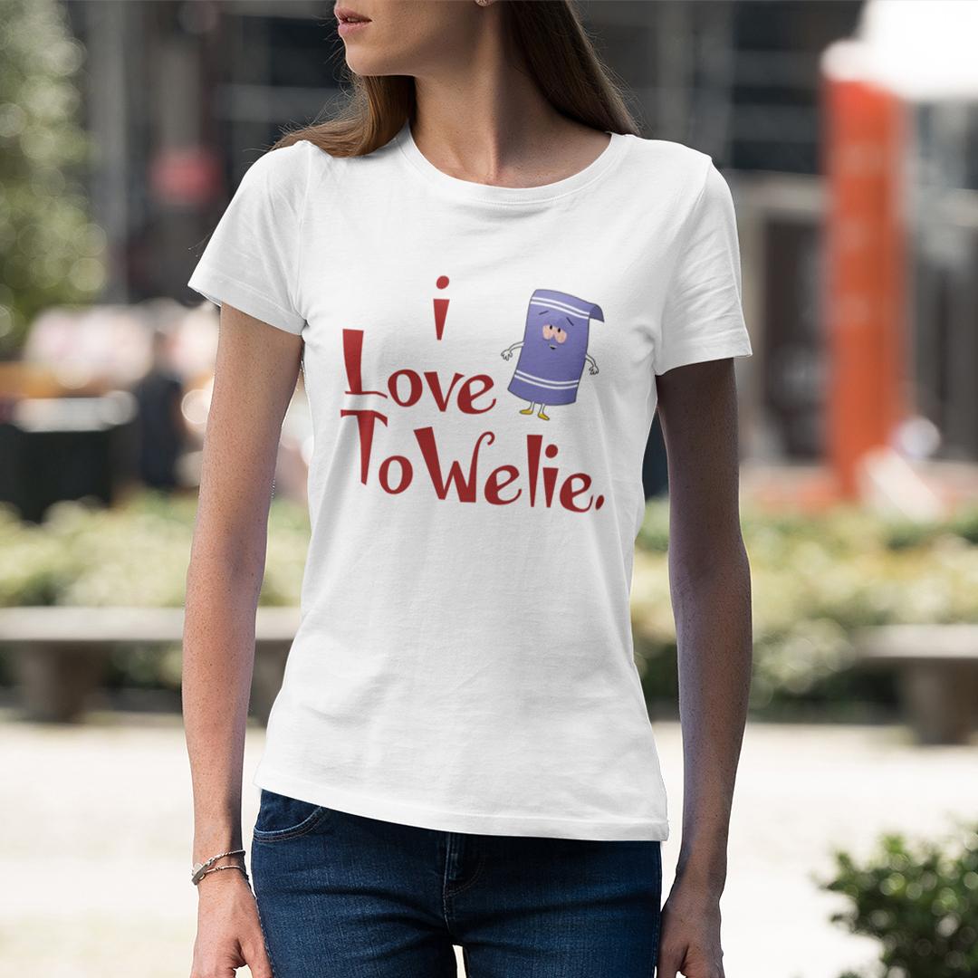 I Love Towelie T Shirt