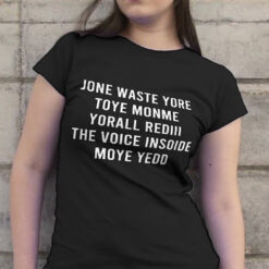 Jone Waste Your Time Shirt Blink 182 I Miss You