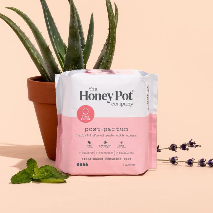Post-Partum-Herbal-Pads-mothers-day-gift-for-pregnant-wife