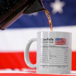 Pro Trump Covfete Mug MAGA Mug American Flag