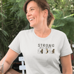 Strong Single Mom Shirt