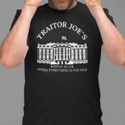 Traitor Joe's Where Everything Is For Sale Est 01-20-2021