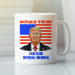 Trump Fan Club Member Mug