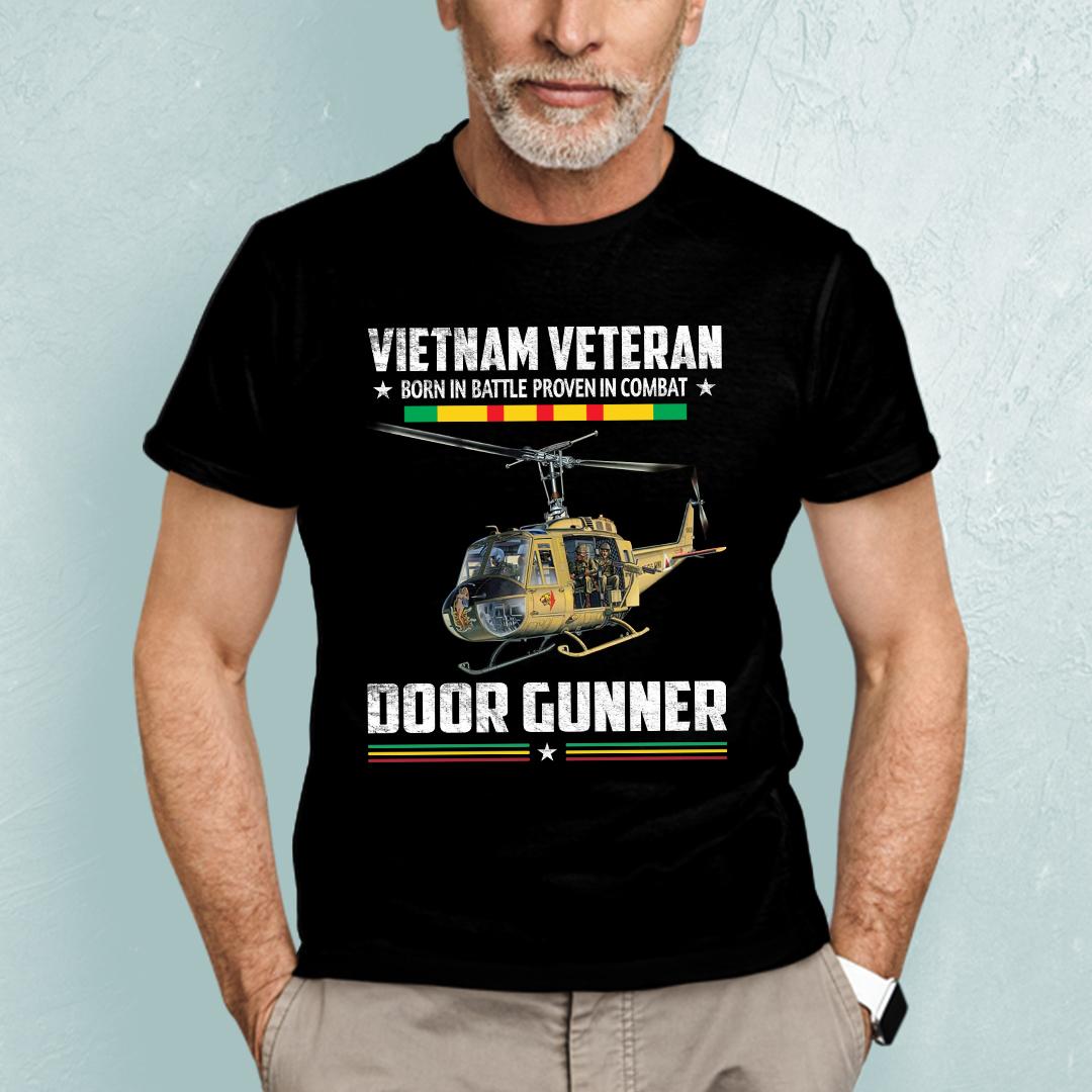 Vietnam Veteran Shirt Born In Battle Proven In Combat