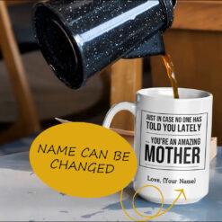 You're An Amazing Mother Personalized Mug mockup